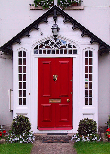 Front Door Painted In Farrow And Ball Blazer Over On Modern Country Style: How To Pick The Perfect Front Door Paint!