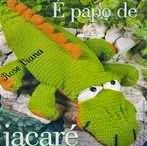 Cocodrilo, Crocodile, Amigurumi