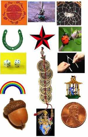 In feng shui, good luck or fortune are said to be attracted through our actions, beliefs, and charms. One can easily find and purchase charms to help let the good vibes come your way. For your guide, below is a list of good luck charms and their use specified.
