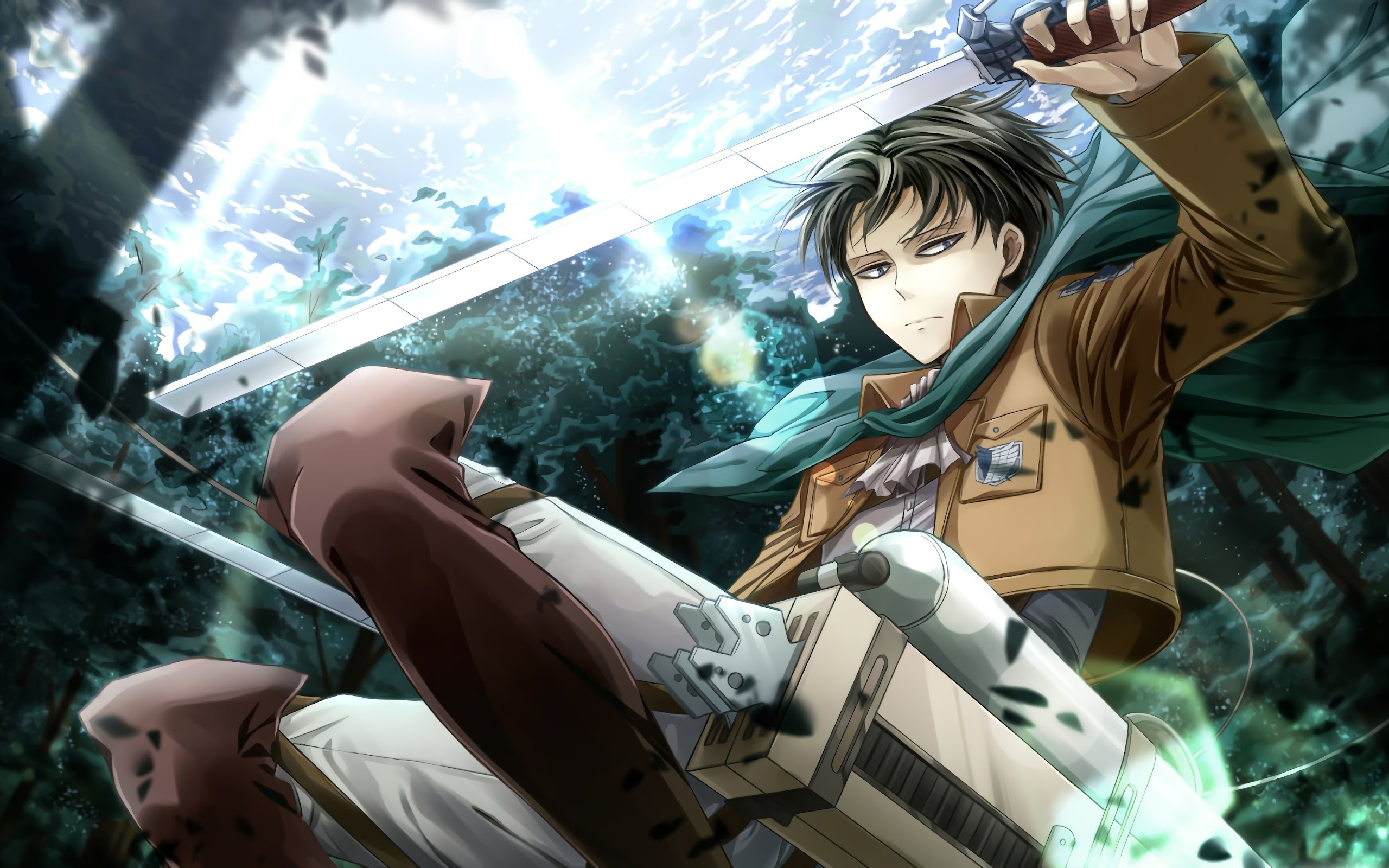 Playlist of my attack on titan wallpapers in 4k. Levi, Attack on Titan, 4K, #61 Wallpaper