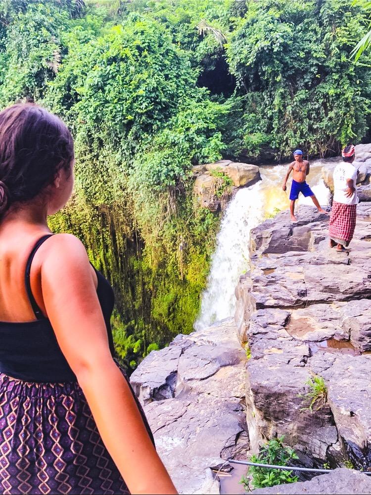 Wasserfall nähe Ubud