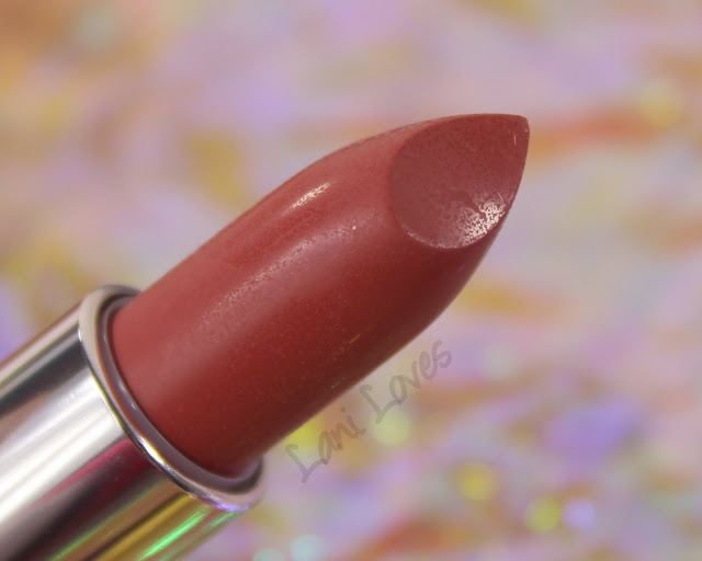 Maybelline Colorsensational Inti-Matte Nudes - Almond Rose Lipstick Swatches & Review