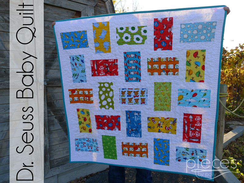 Pieces by Polly: Dr. Seuss Baby Quilt : dr suess quilt - Adamdwight.com