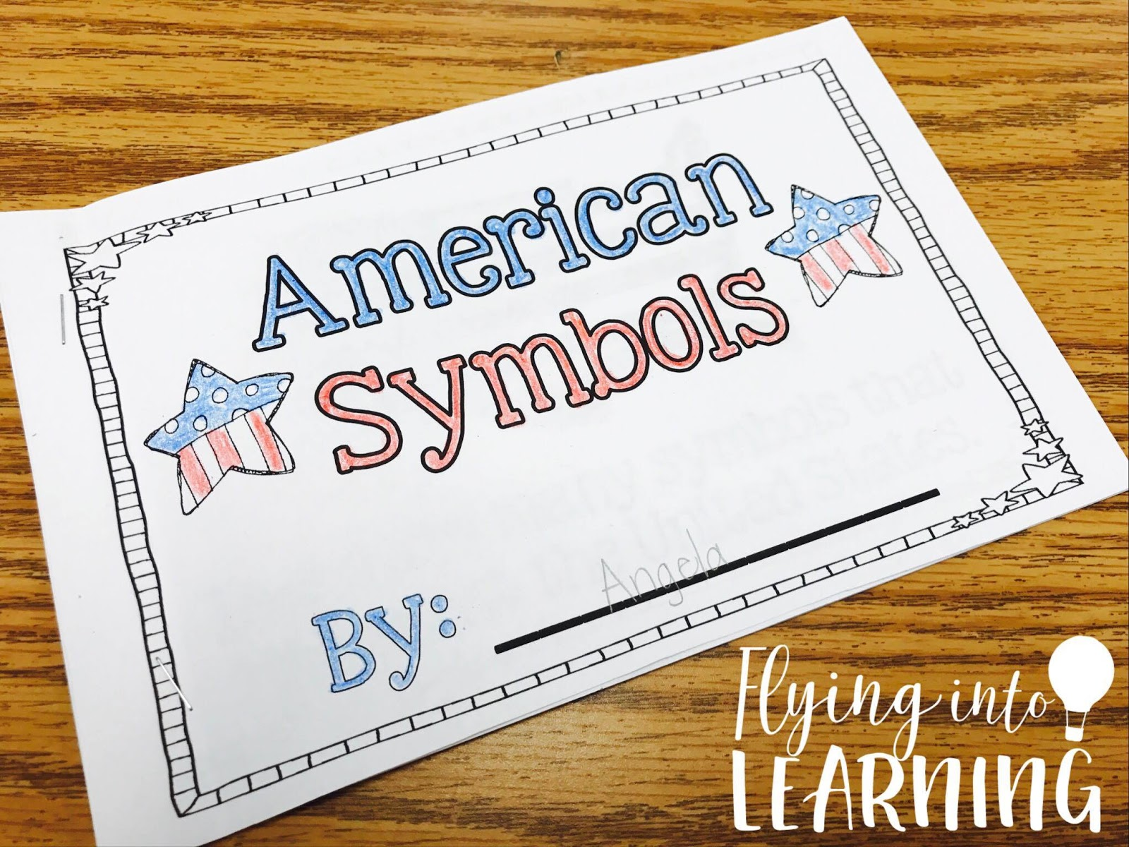 Teaching Ideas for American Symbols   Flying into First Grade [ 1200 x 1600 Pixel ]