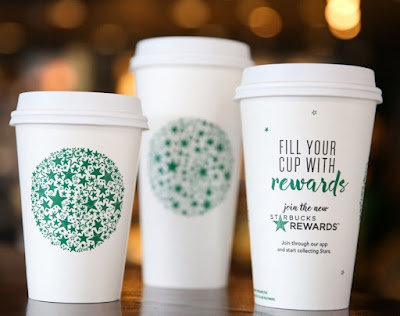 Starbucks Rewards Promotional Cups - Source: https://news.starbucks.com/news/rewards-automatic-gold