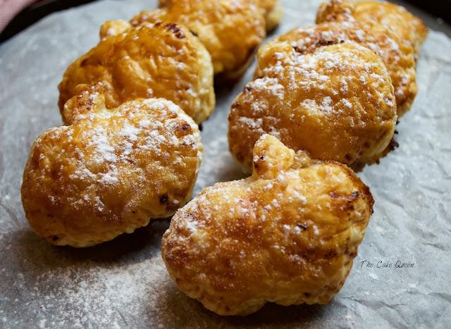 quark-blueberry-puff-pastry, hojaldres-de-quark-y-arandanos