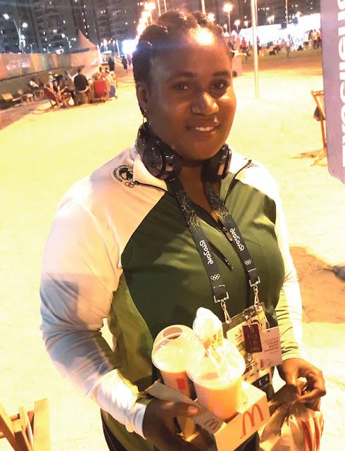 Maryam Usman - Nigerian weightlifter