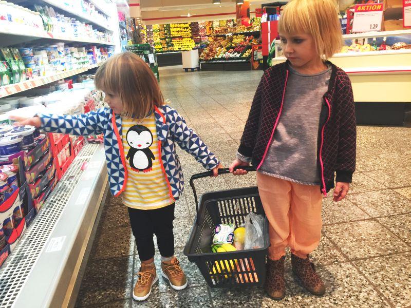 Einkaufen Mit Kind Corona