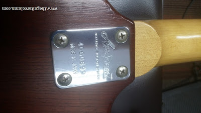 Aria Pro II CS-250 neck joint