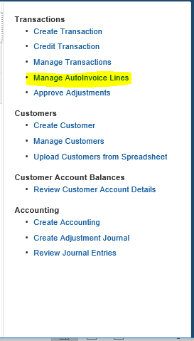How to Manage Auto Invoice Import Interface from Fusion application
