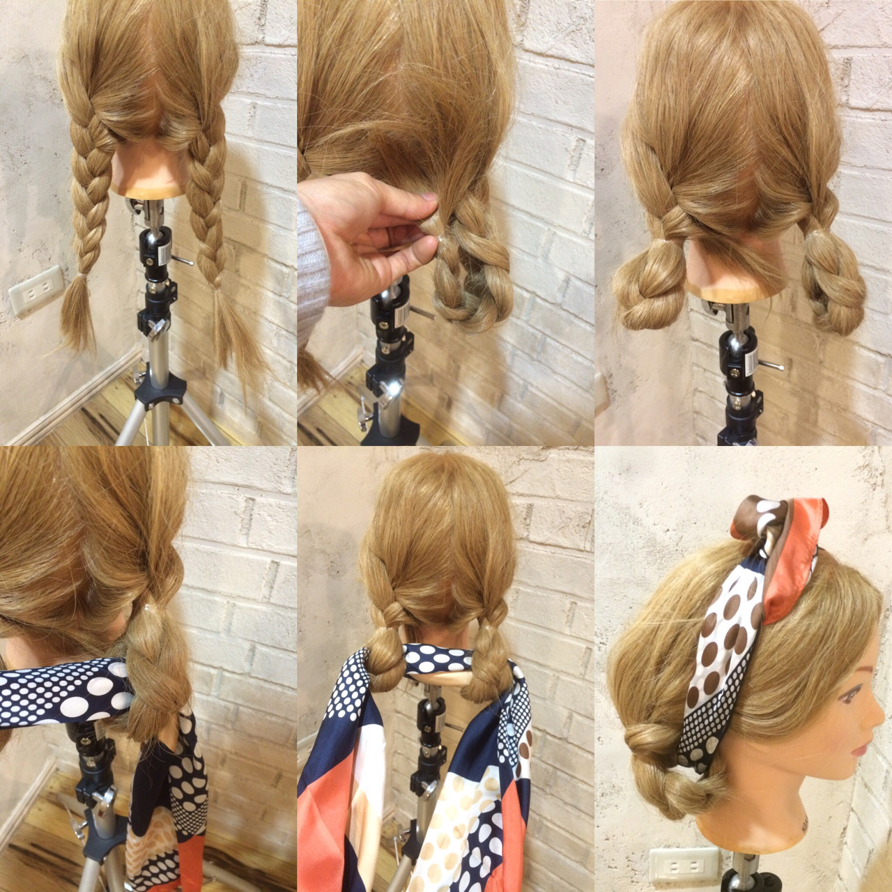 5  Steps by Step  hairstyle toturial