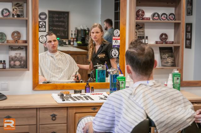 """Frizētava vīriešiem """"Knockout Barber Shop Jelgava"""""""