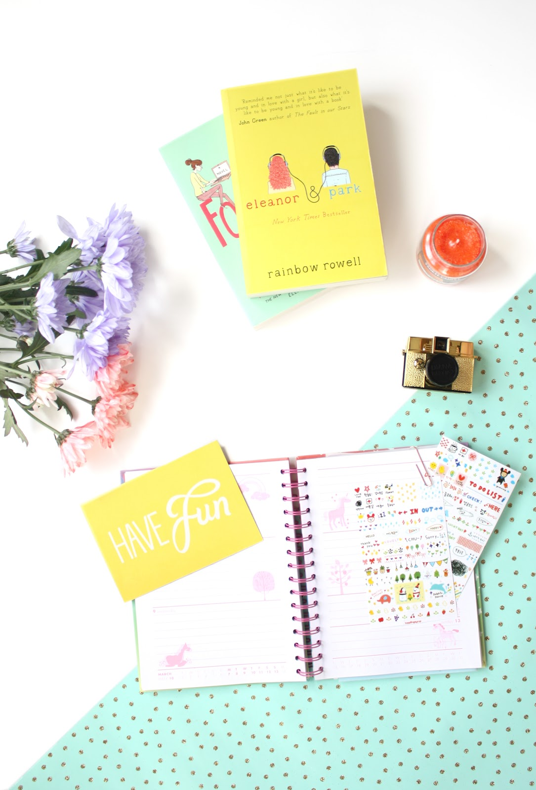 journal book lifestyle flatlay