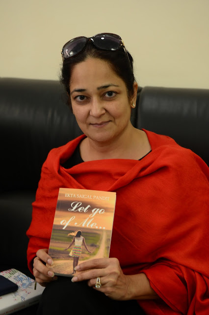 Interview with Ekta Saigal Pandit author of Let Go Of Me