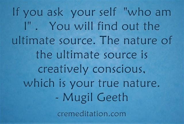 Creative conscious Meditation