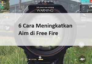 7 Cara Meningkatkan Aim di Free Fire Agar Skill Menembak Bertambah