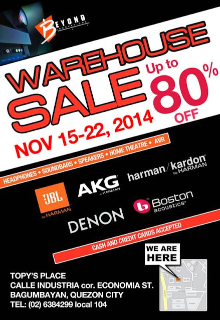 JBL, Harman Kardon, AKG, Denon Warehouse Sale
