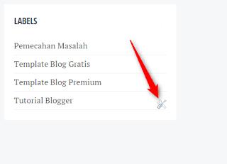 Cara cepat menghapus Icon Obeng & Tang di Blog