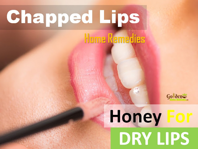 Honey For Chapped Lips, Chapped Lips, Dry Lips, How To Get Rid Of Chapped Lips, Home Remedies For Chapped Lips
