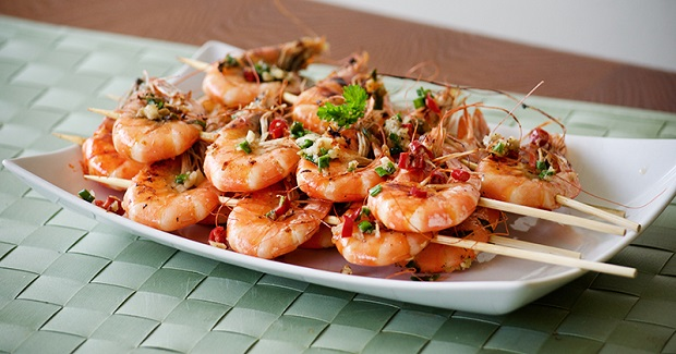 Chinese Grilled Shrimp Recipe