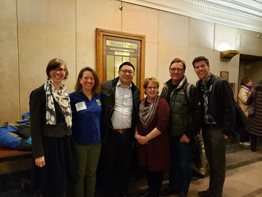 Advocates testified for farm to school policy in the House Agriculture committee on February 26, 2019. Photo: Stephanie Heim