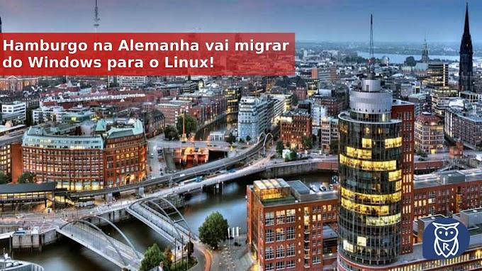 Hamburgo na Alemanha vai migrar do Windows para o Linux!