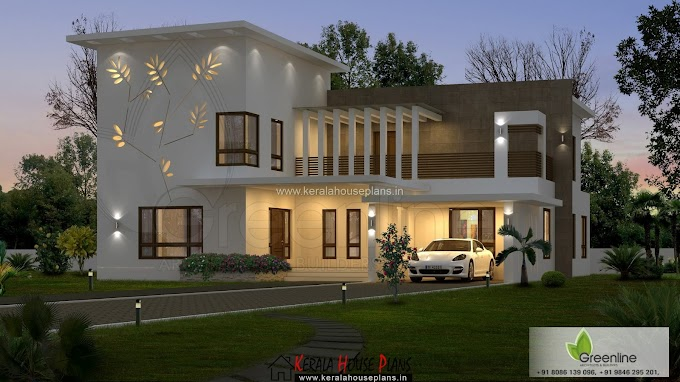 Simple contemporary house plan in kerala