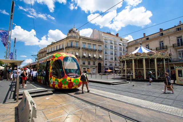 Place de la Comédie-Montpellier