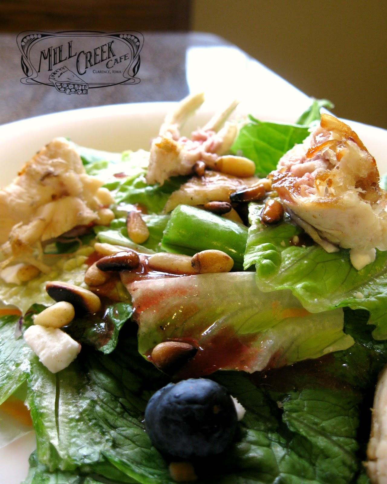 Pine Creek Cafe Menu