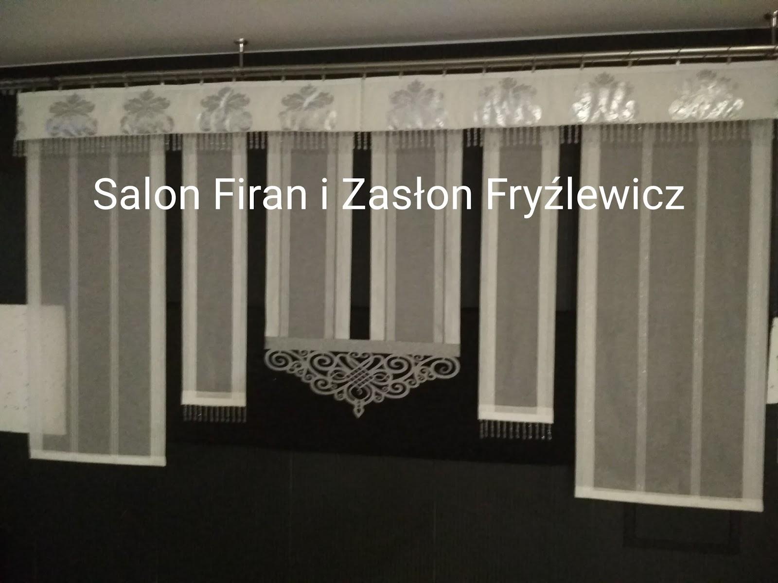 Firany Fryźlewicz Panele Firanowe Z Ażurem