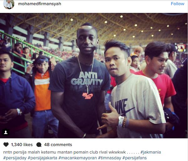 Wooww! Hadir di Stadion Patriot, Makan Konate Merapat ke Persija Jakarta?