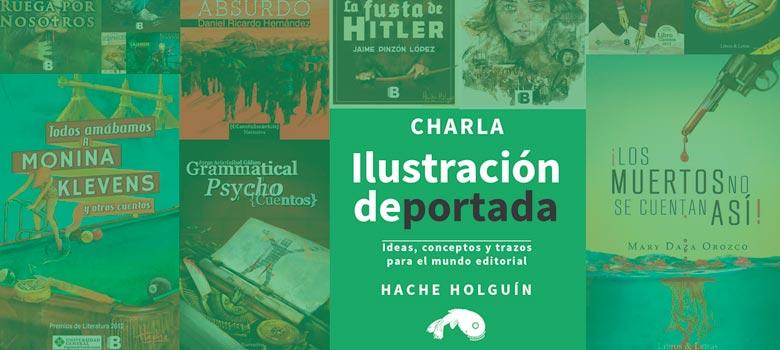 Charla sobre ilustración de portadas de libros