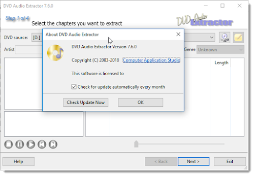 DVD Audio Extractor v7.6.0 + Portable, Extrae el Audio de tus DVDs de Manera Sencilla - IntercambiosVirtuales