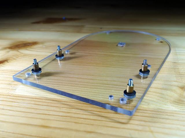 """Основание БП усилителя """"Кристалл"""" (на микросхеме TDA7294)"""