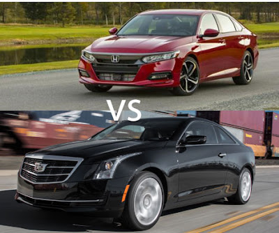 2019 Honda Accord Vs 2018 Cadillac ATS