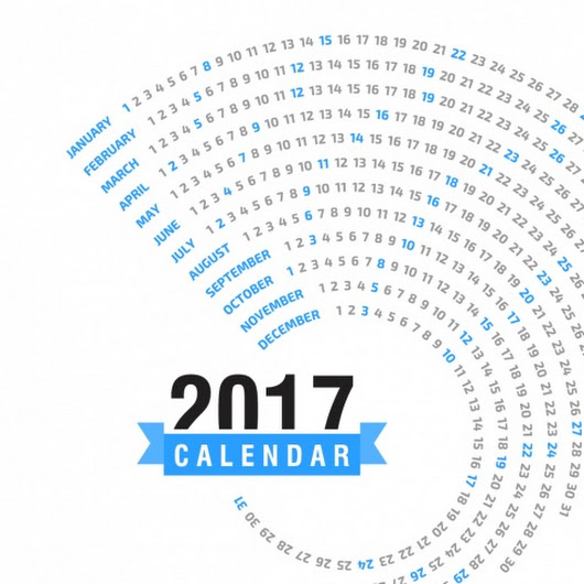 New Year 2017 Calendar Images | 2017 Calendar Designs - Happy New Year 2017