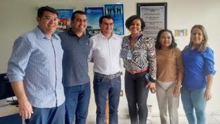 Prefeito Olivânio Remígio participou de reunião de articulação territorial no SEBRAE – Araruna
