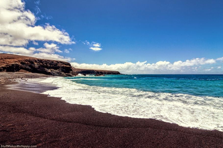 Amazing Beauty of Black Beaches From Around the world