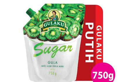 Gula 1 kg dari Gulaku Berkualitas Harga Terjangkau