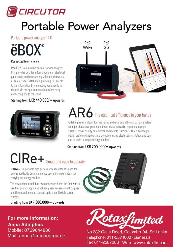 Rotax - Circutor | Power Analyzer.