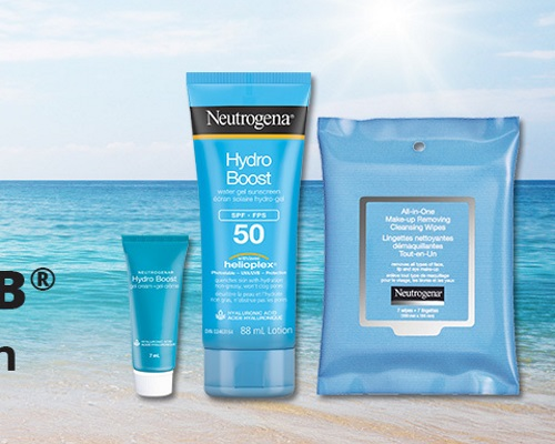 Chickadvisor Neutrogena Hydro Boost Sun #NeutrogenaSun