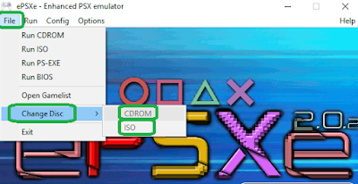 ePSXe 2.0.2 pronto para emulação