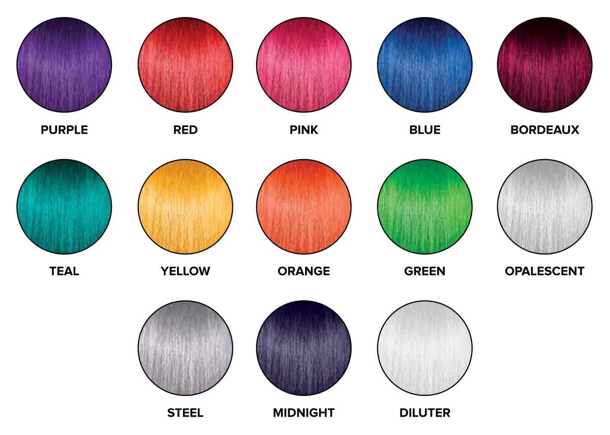 Tweh Natural Hair Paul Mitchell Pop Xg Colors