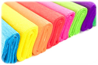 Papel crepe o también llamado papel china o papel pinocho