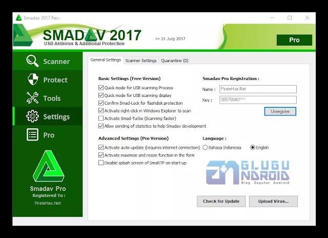 smadav pro registration name and key 2017