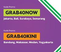 Kode Promo GrabBike GRAB40NOW GRAB40KINI