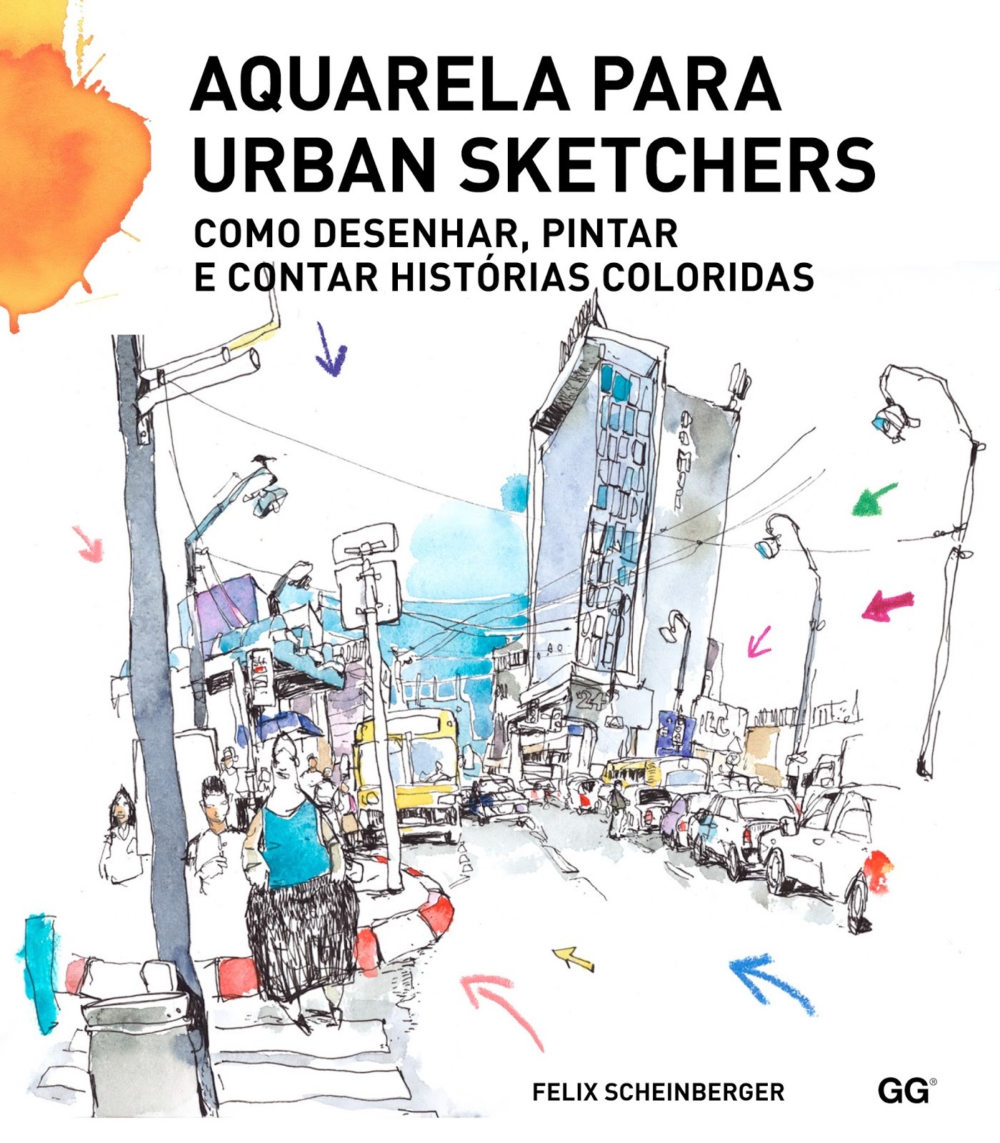 Arquitetando aquarelas - urban sketchers