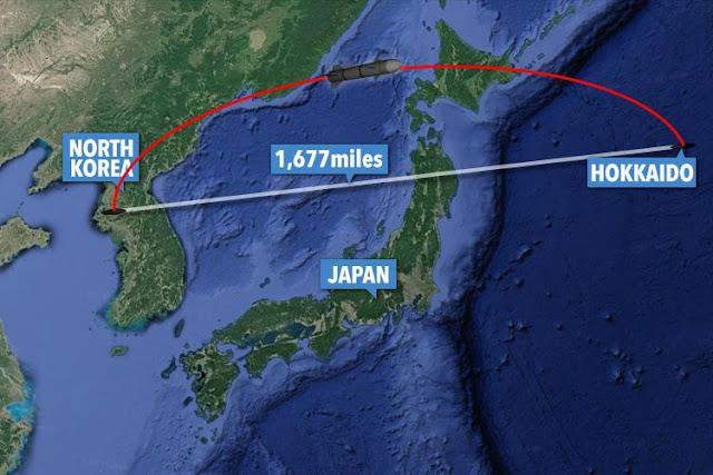 A Coreia do Sul confirmou já o lançamento do projétil por parte de Pyongyang.