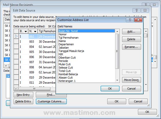Cara membuat Mail Merge di Microsoft Word dengan mudah