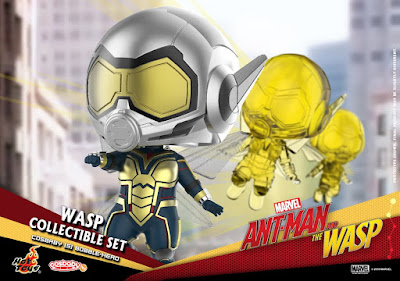 Ant-Man and The Wasp Cosbaby Bobble Head Mini Figure Series by Hot Toys x Marvel